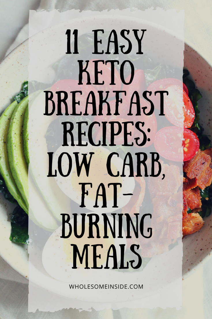 keto breakfast low carb high fat