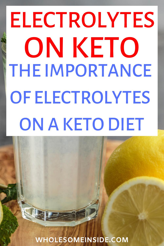 keto electrolytes, keto electrolytes imbalance, keto electrolytes drink,  keto electrolyte drink recipe