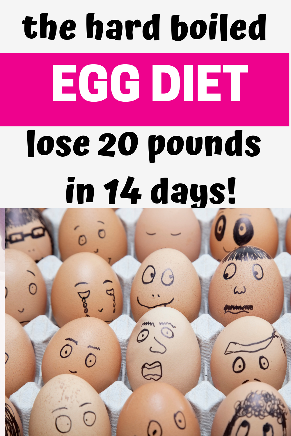 boiled egg diet, lose 20lbs in 2 weeks, lose 20 pounds in 14 days, lose fat no exercise