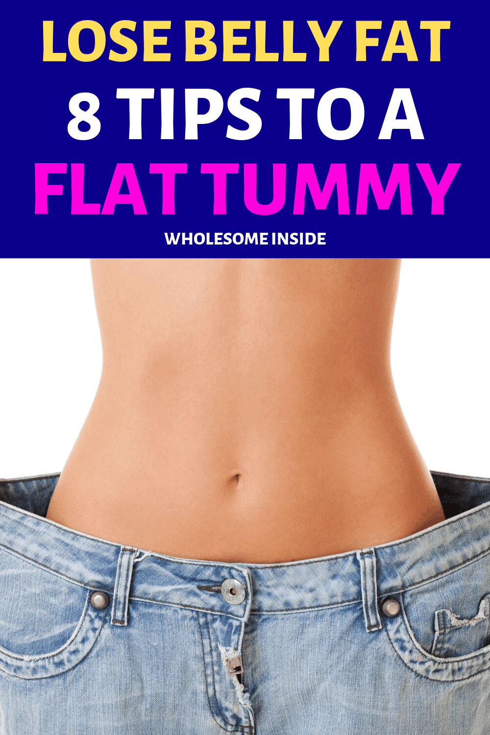 8 Tips on how to get a flat tummy