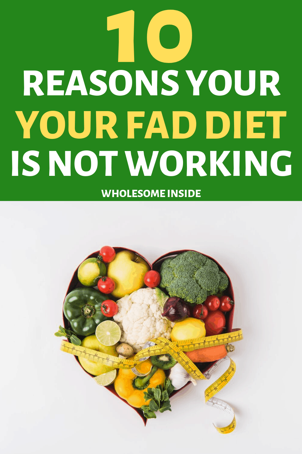 Reasons why your Fad diet isnt working.