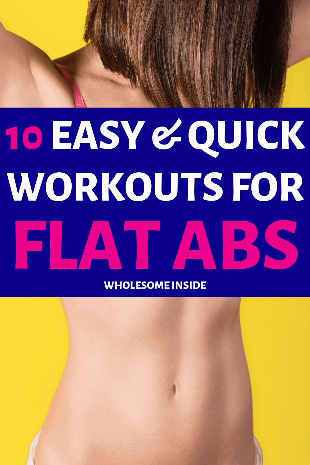 Workouts to get Flat Abs fast!