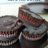 11. Chocolate Raspberry Keto Fat Bombs