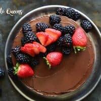 9. Instant Pot Low Carb Flourless Chocolate Cake Recipe