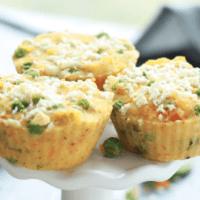 Savory Vegetable Breakfast Muffins