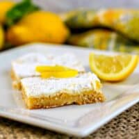 3. Low Carb Lemon Bars