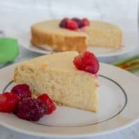 14. Lemon Almond Cake