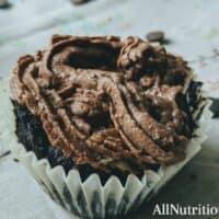 8. Keto Chocolate Cupcakes
