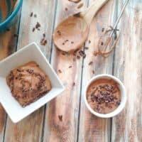 Vegan Chocolate Coconut Cream Pudding