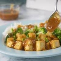 Easy General Tso's Tofu