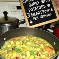 Vegan ChickPea Curry With Potatoes Recipe