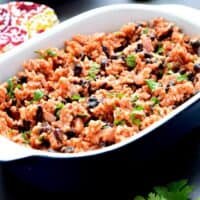 Mexican Beans and Rice - Gluten Free & Vegan