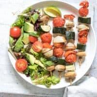 Air Fryer Vegetable Kabobs
