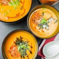 Carrot Ginger Miso Soup