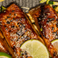 Ginger-Lime Salmon