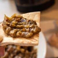 Roasted Eggplant Dip (Baba Ganoush)