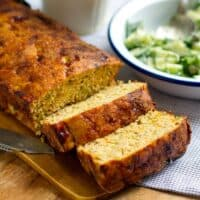 Salmon Loaf With Cucumber Salad