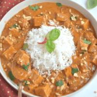 Easy Instant Pot Thai Peanut Curry