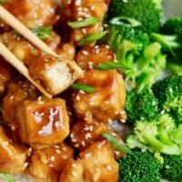 Vegan Orange Chicken (Tofu)