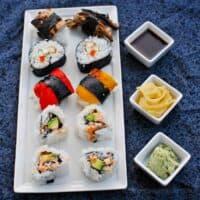 Easy Homemade Vegan Sushi