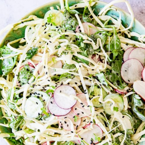 cabbage keto salad
