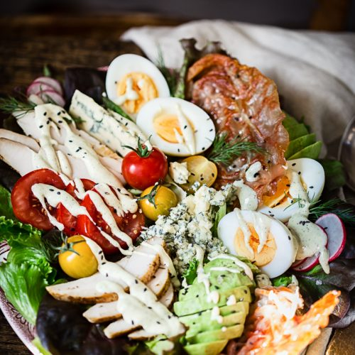 summer fresh cobb salad